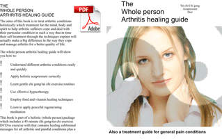 Arthritis PDF healing using qigong acupressure diet and meditaion £4